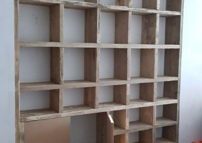 Pottery storage for collection