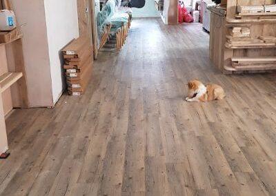 Flooring complete