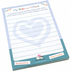 Worry Pad for your Bear