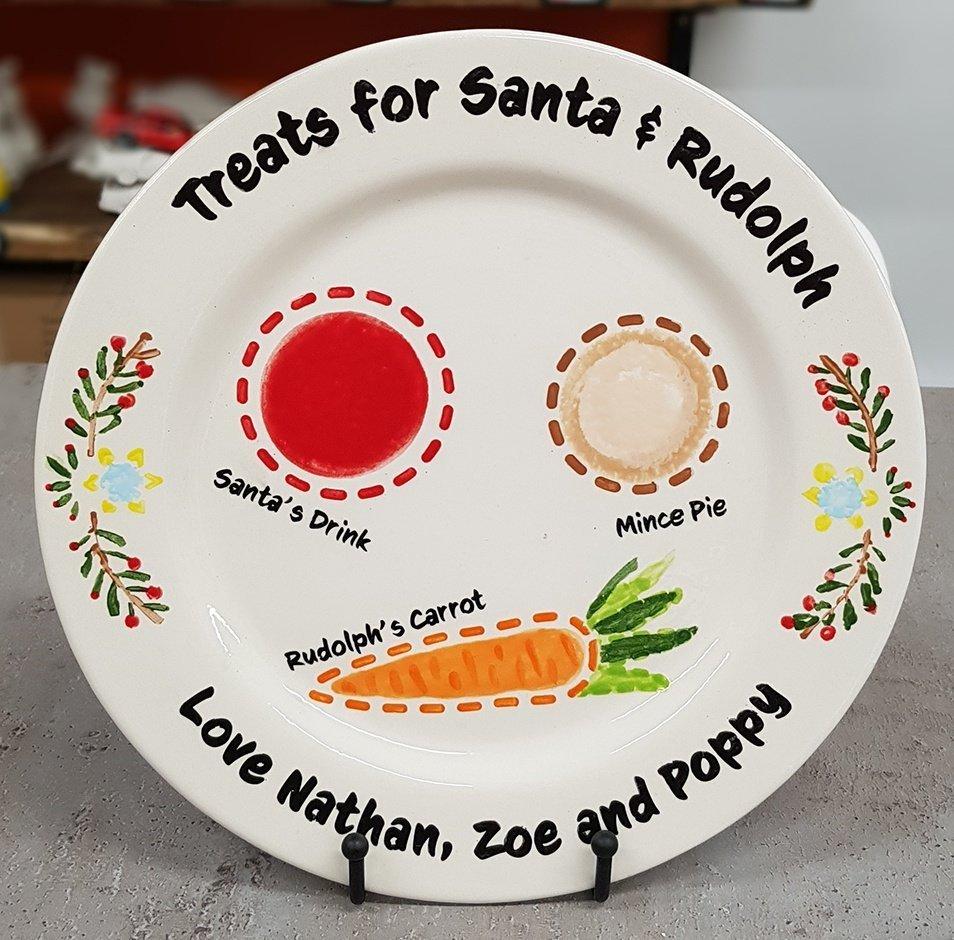 Night Before Christmas plate