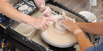 Day on the Wheel: Our Throw Pottery Update